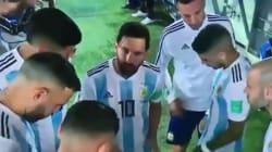 Dopo il discorso di Messi dagli spogliatoi esce un'altra
