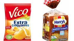 Entre ce pain de mie complet et ce paquet de chips, le plus riche en sel n'est pas le plus