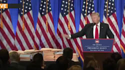 La mise en scène de Trump pour rassurer sur les conflits