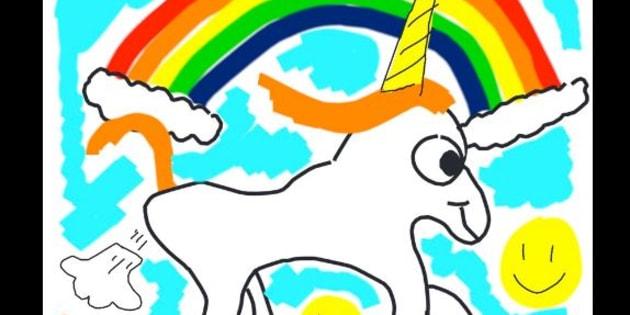 Vous ne devinerez jamais quel grand patron a dessiné cette licorne qui pète