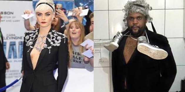 Deux internautes se moquent des tenues de Cara Delevingne et ça la fait beaucoup rire