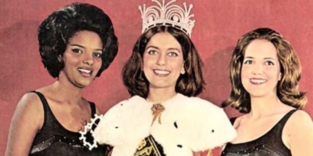 Vera Lúcia Couto (à esq.), vice-campeã do Miss Brasil 1964, inspirou marchinha tradicional.