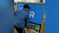 Calgary Landlord Ripped Out Tenants' Election Sign, Candidate