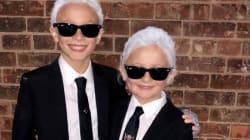 Halloween: ces petits Karl Lagerfeld ne sont pas n'importe