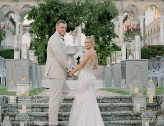 Watt ties the knot with Ohai in the Bahamas