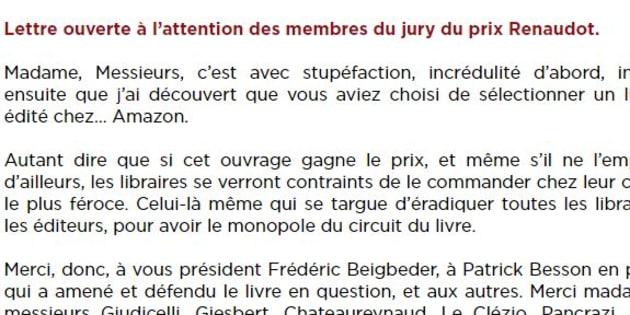 La lettre ouverte de Mélanie Le Saux.
