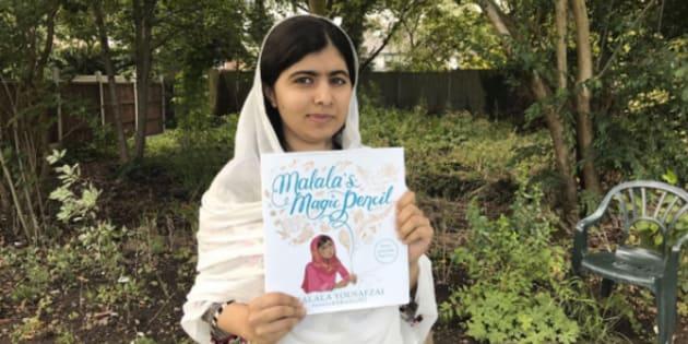 Malala cherche à inspirer les plus jeunes enfants et les encourager à croire en eux-mêmes