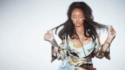 Rihanna a trouvé un accessoire bling-bling, déconcertant... mais
