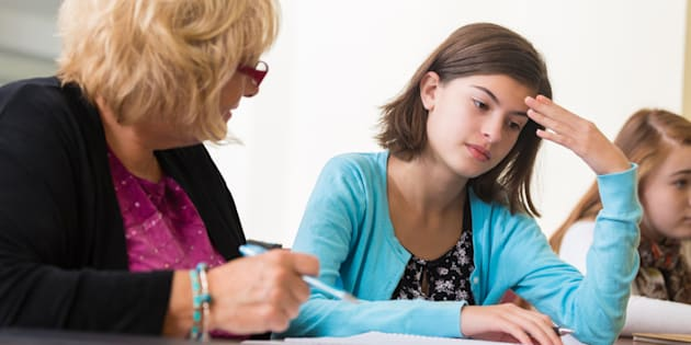 C'est extrêmement difficile de remarquer qu'un élève va mal.