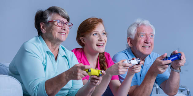 Les jeux vidéo réduiraient le risque de démence chez les personnes âgées