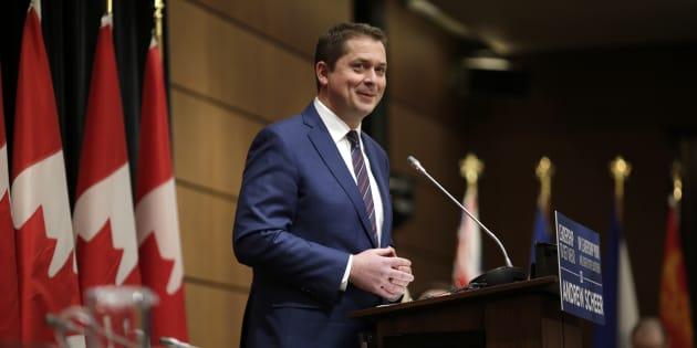 Andrew Scheer, chef du Parti conservateur.
