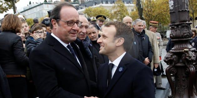 """""""Présidence humaine"""", l'expression préférée de Hollande pour s'opposer à Macron."""