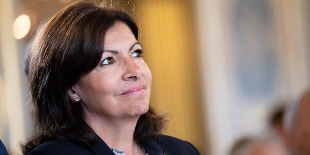 Anne Hidalgo à Paris le 14 juin 2018.