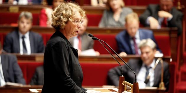 """Selon """"L'Humanité"""", la ministre du Travail Muriel Pénicaud a réalisé une juteuse opération boursière suite à un plan social lorsqu'elle était DRH chez Danone."""