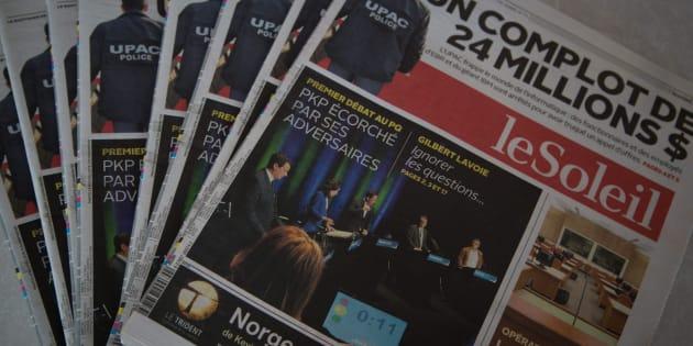 Québec offre une aide de 10 millions $ à Groupe Capitales Médias