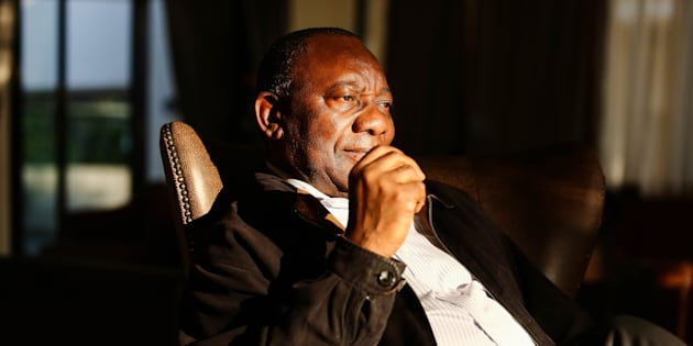 Deputy President Cyril Ramaphosa Photo by Moeletsi Mabe/Sunday Times/Gallo Images/Getty Images