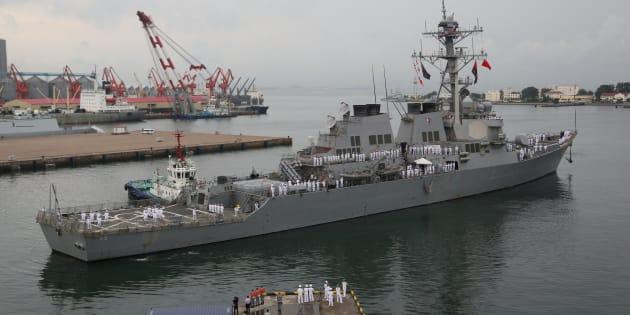 Le USS Benfold.