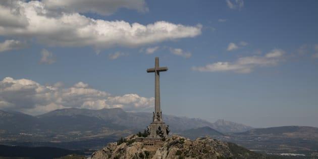 """Le mausolée de la Valle de los Caidos (""""Vallée de ceux qui sont morts au combat""""), où est enterré le dictateur espagnol Francisco Franco."""