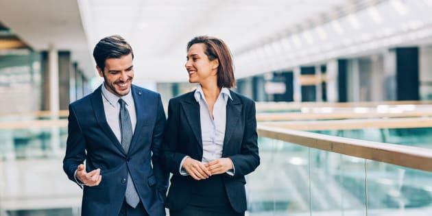 26% des Français ont trompé leur partenaire avec un(e) collègue selon cette étude (photo d'illustration).