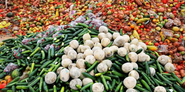 Gaspillage alimentaire: les Américains jettent 150.000 tonnes de nourriture par jour.