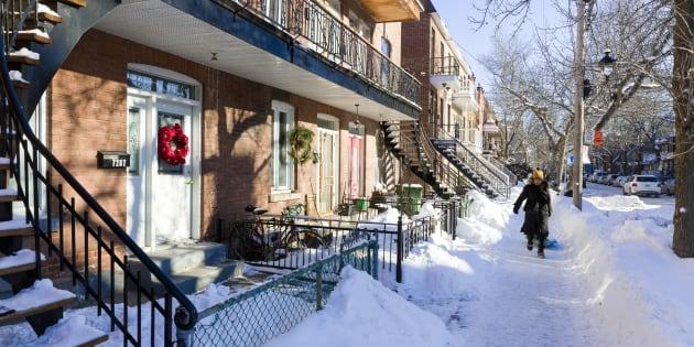 Pas de déblaiement de la neige et de la glace — Montréal