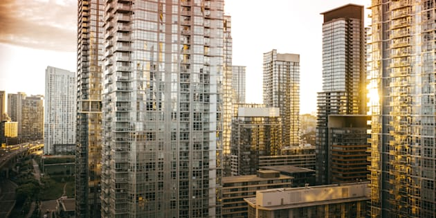 "Condos and apartments  in downtown Toronto. Ontario is among four provinces with ""severe"" rental apartment affordability issues, according to Rentseeker."