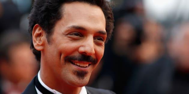 Tomer Sisley au Festival de Cannes 2016.