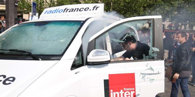 """Fête à Macron"""": l'étudiant interpellé condamné à 1 mois de prison avec sursis et 100 jours-amende."""