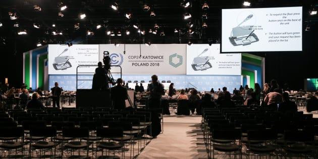 Les représentants de quelque 200 pays étaient réunis à Katowice, en Pologne.