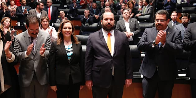 Carlos Bonnin y Blanca Ibarra tomaron protesta como nuevos integrantes del Instituto Nacional de Transparencia, Acceso a la Información y Protección de Datos Personales (INAI), ante el pleno del Senado de la República.