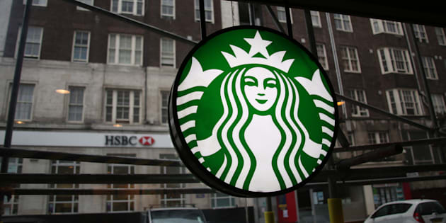 LONDON - OCTOBER 16: View out the window of a Starbucks coffee shop on Queensway on October 16, 2016 in London, Great Britain, United Kingdom. (Photo by Waring Abbott/Getty Images)