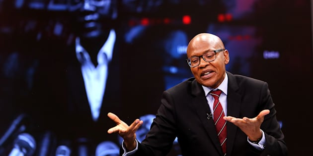 The New Age and ANN7 proprietor Mzwanele Manyi during the announcement on the shareholding of his company Lodidox on August 30, 2017 in Johannesburg, South Africa.
