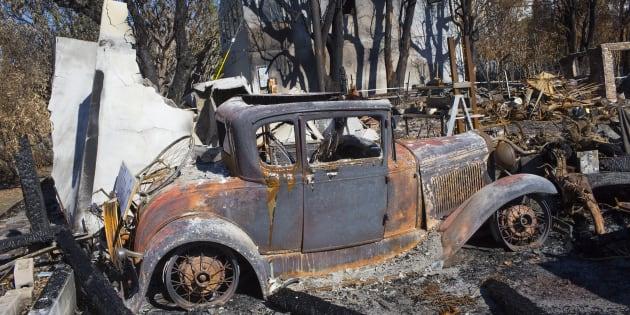 Au mois de novembre, trois incendies ont dévasté quelque 100.000 hectares en Californie.