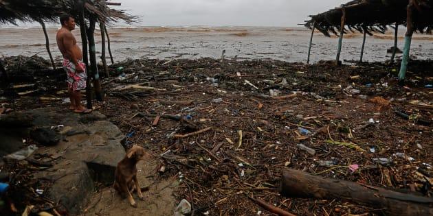 20 morts en Amérique centrale après le passage d'une tempête tropicale.