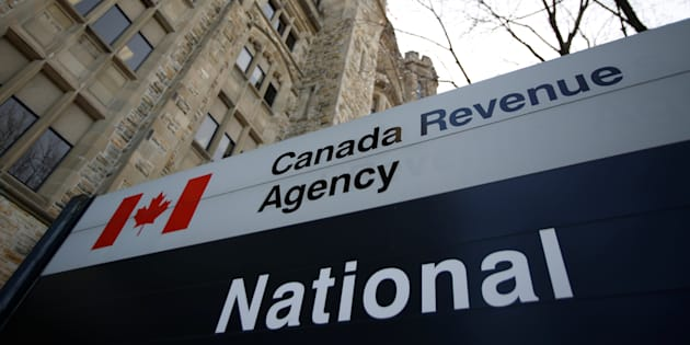 A sign is pictured in front of the Canada Revenue Agency (CRA) national headquarters in Ottawa, Ont., March 13, 2017.