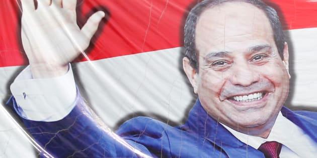 Al-Sissi va être réélu sans opposition en Égypte... comme Moubarak en son temps.