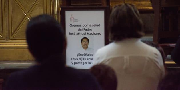 Confirma Arquidiócesis muerte cerebral del padre Machorro