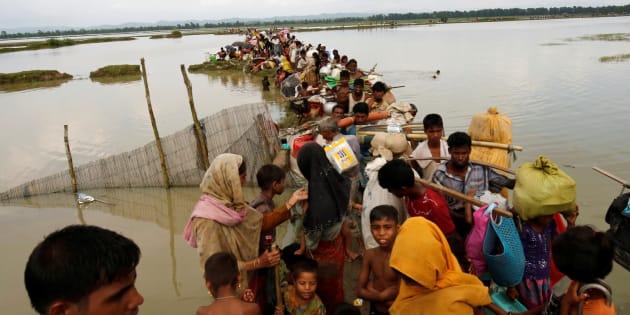 270.000 Rohingyas de Birmanie en fuite, près d'un tiers de la communauté du pays
