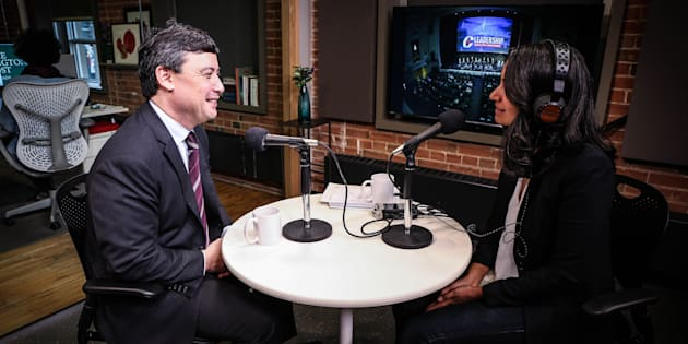 Conservative MP Michael Chong sits down with HuffPost Canada's Althia Raj in Toronto in March of 2017.