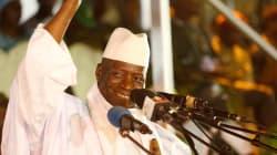 Le président de la Gambie, qui voulait gouverner pendant