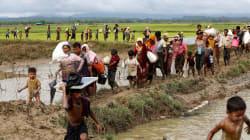 400 morts en une semaine en Birmanie, 20.000 Rohingyas bloqués à la