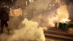 Manif tendue contre les violences policières à Barbès, des gaz lacrymogènes