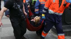 Una explosión en el metro de San Petersburgo causa varios