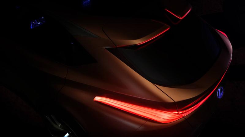 Lexus Lf 1 Limitless Crossover Concept 2018 Detroit Auto Show Debut