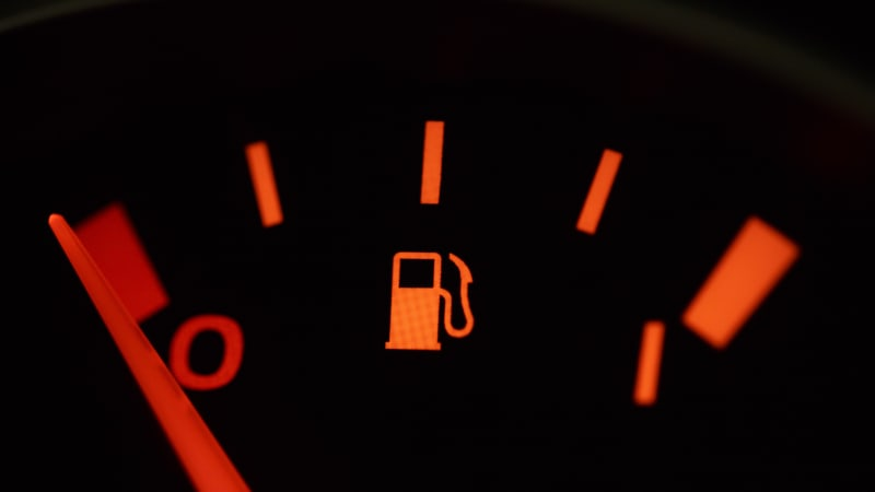 How far can you actually drive after low-fuel warning light