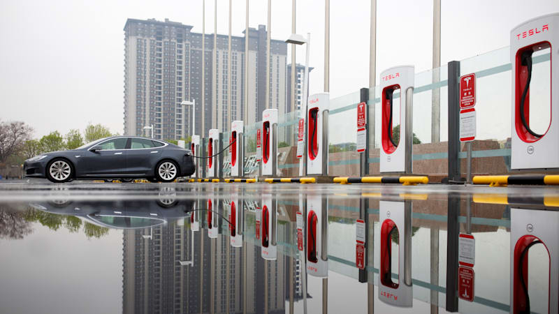 photo image Tesla raises car prices in China amid trade war