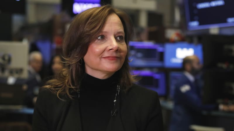 photo of GM offers bold earnings forecast, and stock price soars image