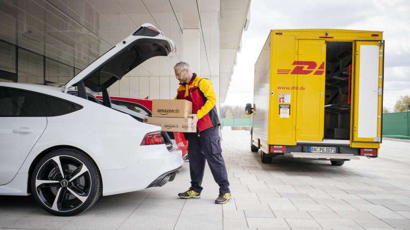 Amazon Prime now delivering right to your Audi