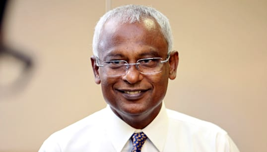 Maldives Opposition Leader Ibrahim Mohamed Solih Wins Presidential