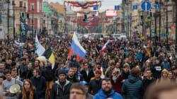 Plus de 1000 manifestants anti-Poutine interpellés dans toute la